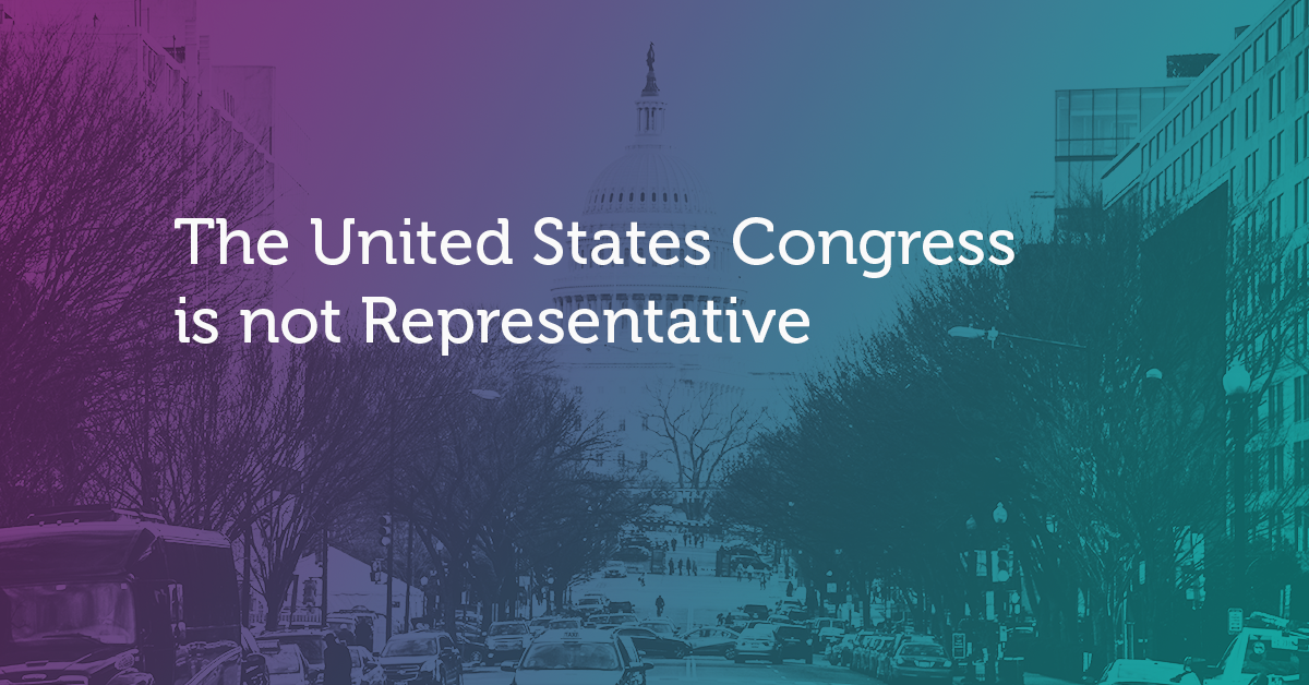 The United States Congress is not Representative